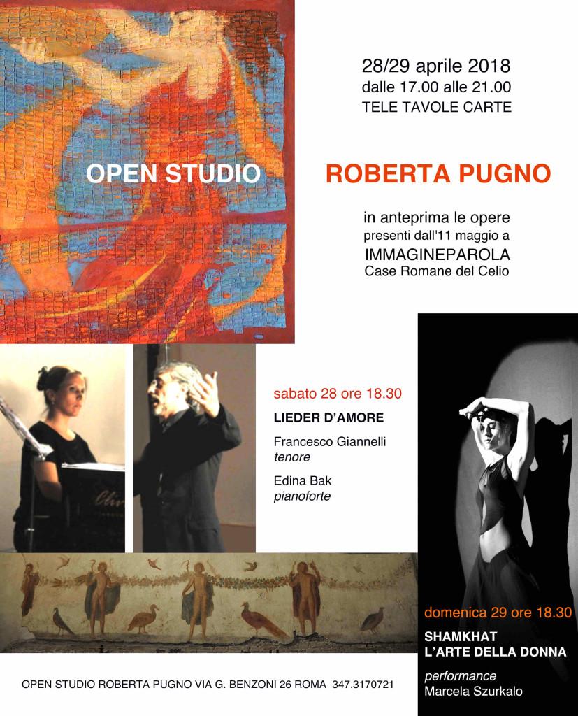 OPEN STUDIO ROBERTA PUGNO
